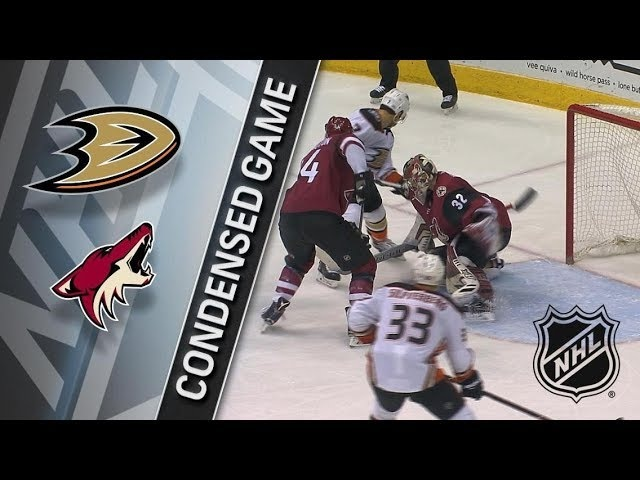 Anaheim Ducks vs Arizona Coyotes February 24, 2018 HIGHLIGHTS HD