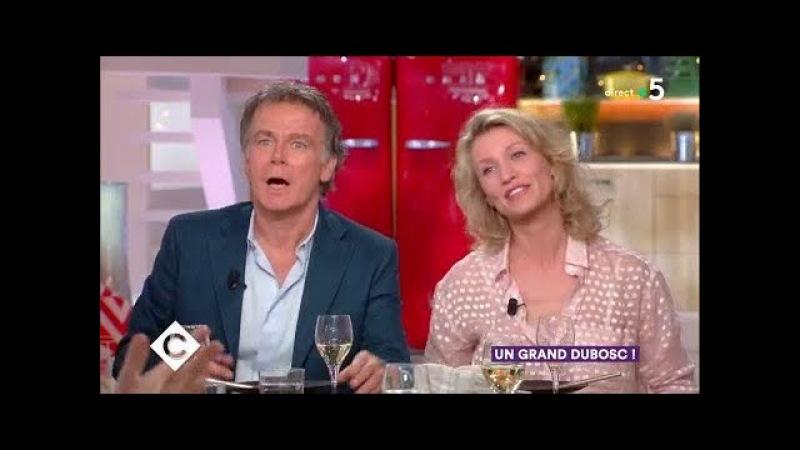 Alexandra Lamy, Elsa Zylberstein et Franck Dubosc au dîner - C à Vous - 07/03/2018
