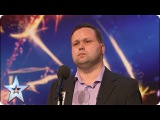 Paul Potts stuns the judges singing Nessun Dorma Audition Britain's Got Talent 2007