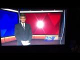 Ведущий не успел дочитать новости как переключили на корреспондента/IT'S TIME VIDEO