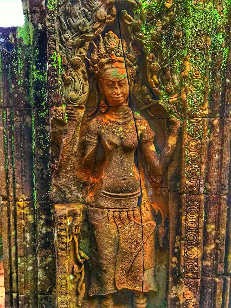 Елена Руденко (Валтея). Камбоджа. Ангкор. ECuxZJe3ZTY