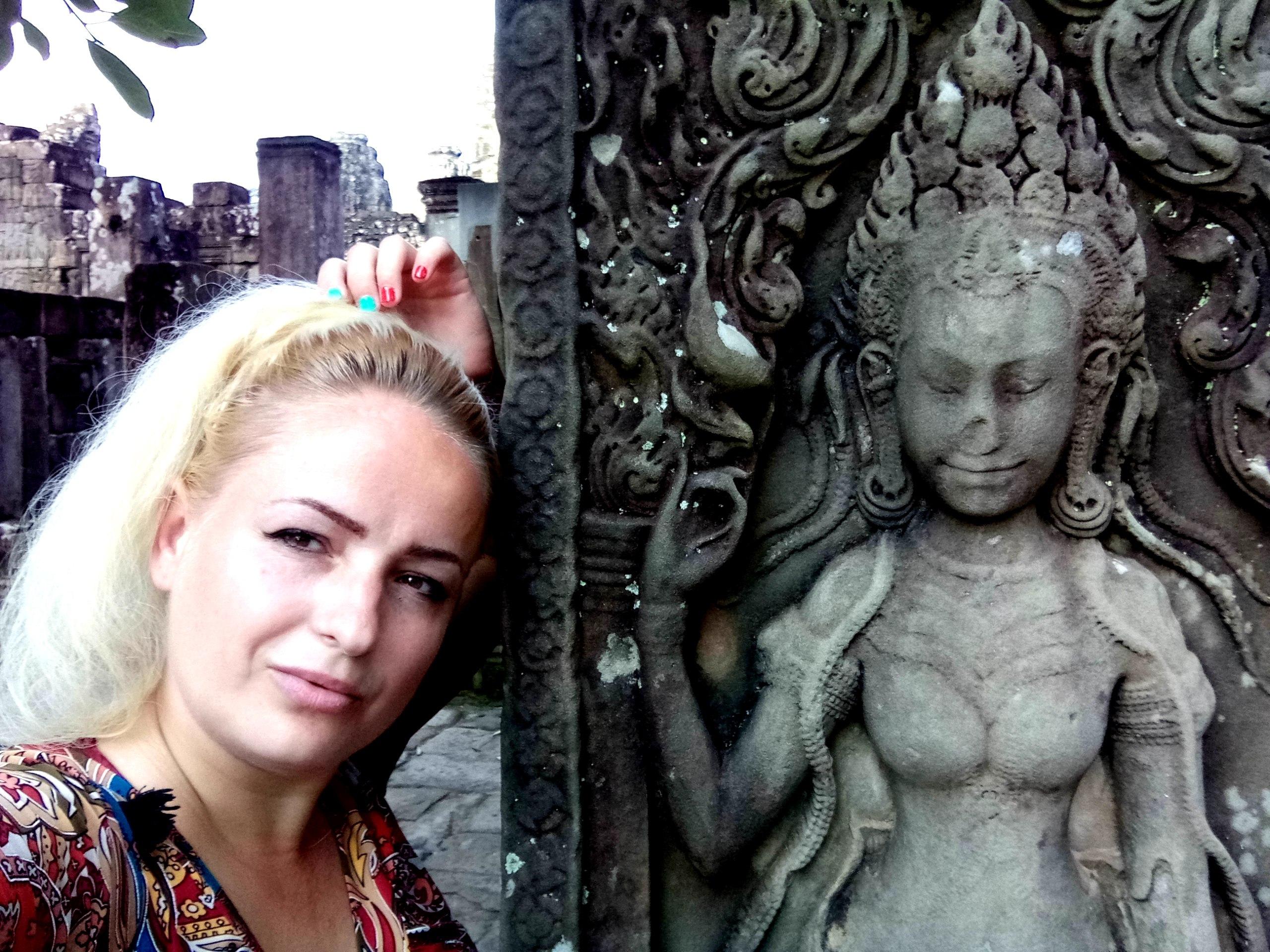 Елена Руденко (Валтея). Камбоджа. Ангкор. - Страница 2 F1PNZI5_IPo