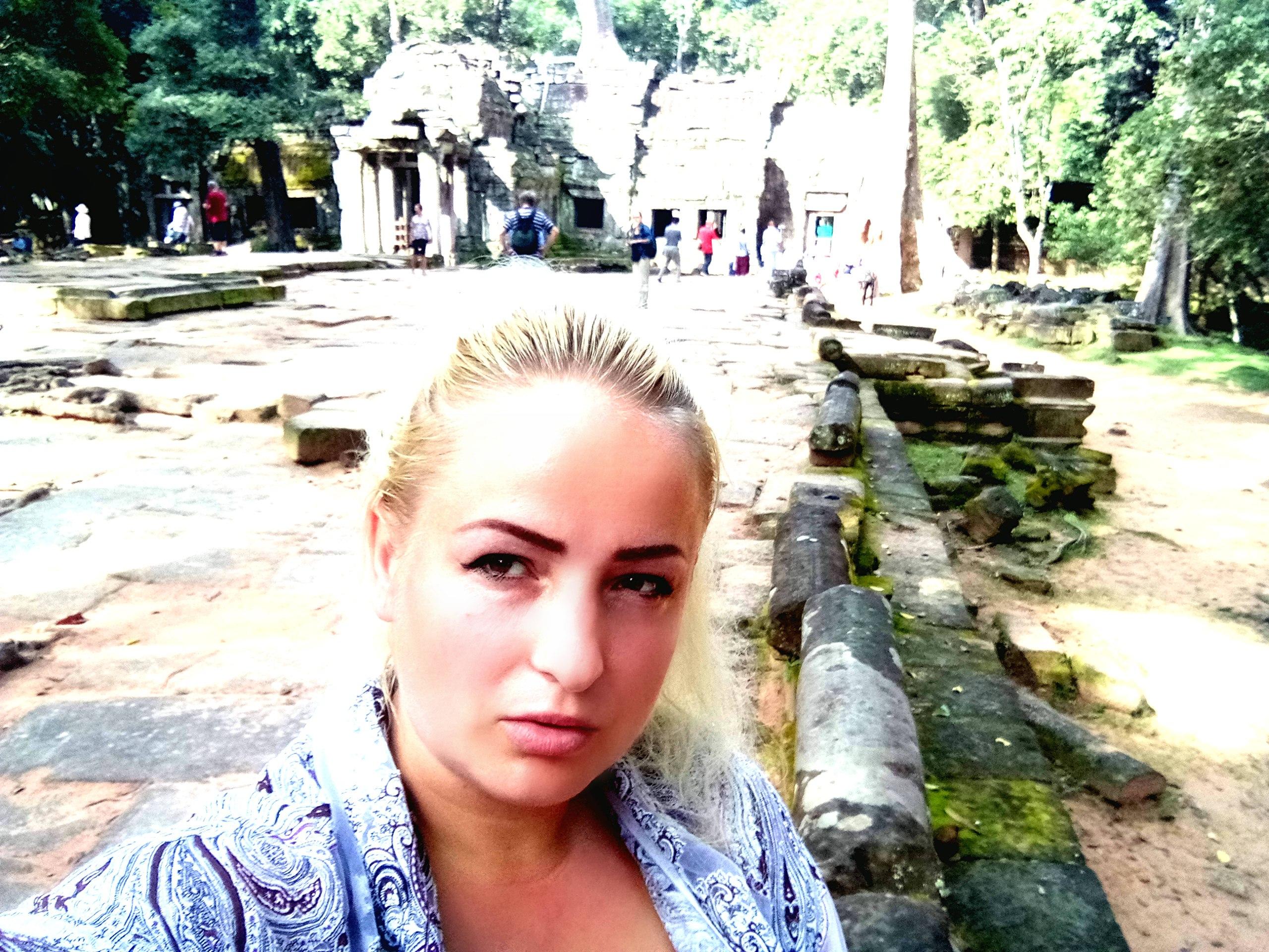 Елена Руденко (Валтея). Камбоджа. Ангкор. - Страница 3 L_yWn7IgLYY