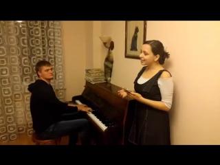 Яна Цуркан и Арсений Бургуненко - Я скучаю по тебе (cover Трофим)