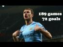 Эдин Джеко Все голы за Манчестер Сити 72 гола за 189 игр Edin Džeko all 72 goals for Manchester City
