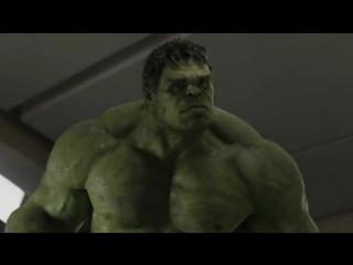 Халк против Локи (Марвел, комиксы Marvel, супергерои, Тор, мстители, Капитан Америка, железный человек, война, битва, ушатал).