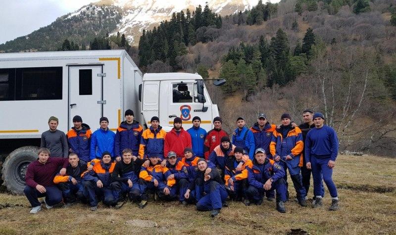 В Зеленчукском районе прошли сборы спасателей МЧС