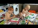 Мои талантливые племянники: Леня и Яша