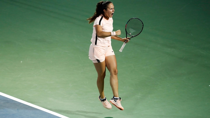 Elena Vesnina vs Daria Kasatkina Dubai LIVE