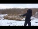 Стрельба по мишени, впервые из ружья и впервые зимой, интересные ощущения внутри - цельности, собранности, мне понравилось✨