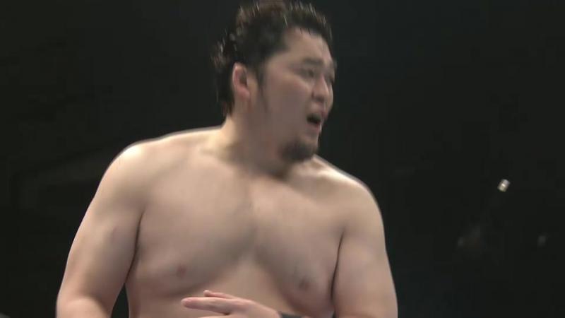 Yujiro Takahashi and Hikuleo vs. Tomohiro Ishii, Toru Yano (NJPW - The New Beginning 2018 in Sapporo - Day 2)
