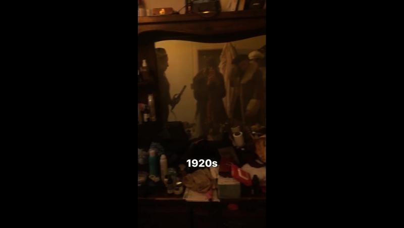 Личное видео из инстаграм-истории Бриттани (05/12/17)