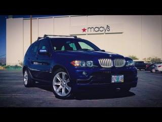 Машина для Бати. Топовый BMW X5 4.8 с V8 под капотом. Новая красотка в гараже Грузина.
