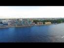Питер с крыши высотки Ривер-Сайд, видео