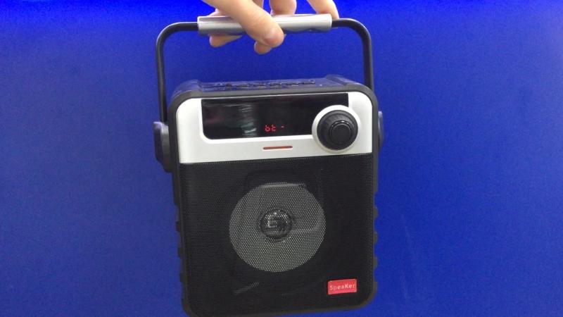 MP3 Колонка портативная Activ P-35 bluetooth/USB/Fm/microSD/accu 800mAh черная - 1990р.
