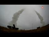 Боевые расчеты комплексов С-400 поразили баллистические цели «врага» на юге России #АрмияРоссии