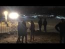 Крещенские купания на новом пляже в Левобережном САО 18.01.2018