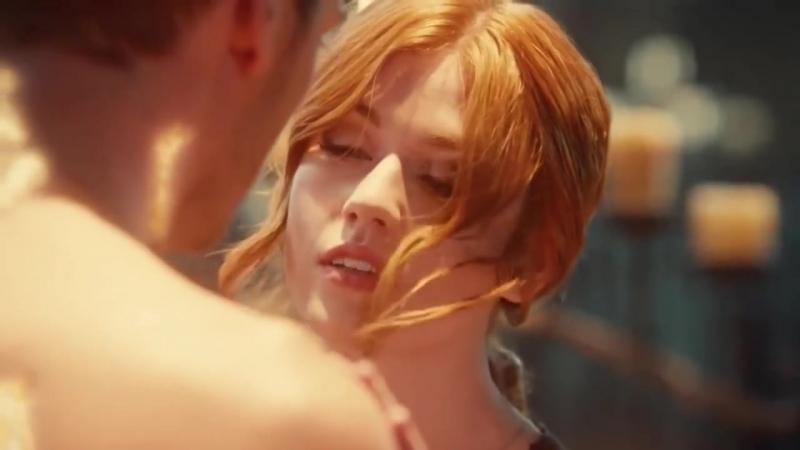 Jace and Clary- клери джейс любовь страсть поцелуи нежность опасность прекрасно приятно