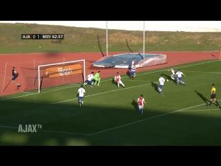 Highlights Ajax - MSV Duisburg