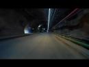 Светодиодная лента x Glo освещение в тоннеле Чили
