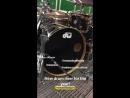New drums Roy Mayorga Instagram