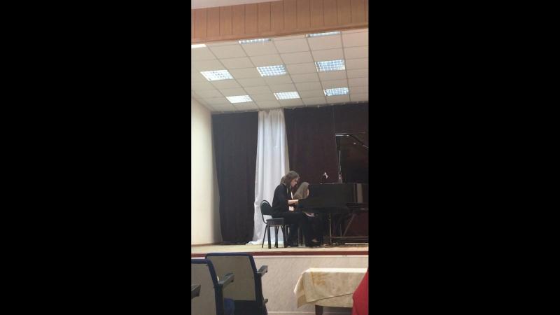 Д. Шостакович - Концертино для двух ф-но
