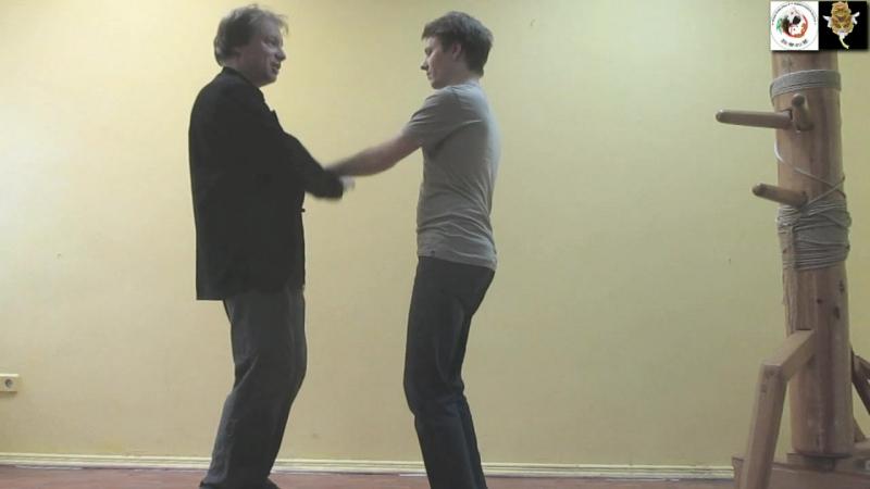 WING CHUN OPEN HANDS Dai Sifu Sergei Shelestov Mister Maxim Yushkin OPEN HANDS FEELINGS TRAINING 32 DRAGON BUTTERFLY CLUB O