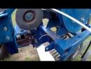 Уборка картофеля 2017. Часть 1. Модернизация картофелекопалки с мотоблоком Нева - YouTube