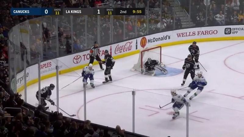 НХЛ. Двойной сэйв Джонатана Куика (13.03.18)
