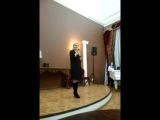 поёт Юлия Тихомирова, часть 1