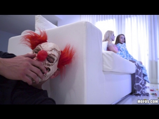 #pron cristi ann, liza rowe (hardcore halloween prank) [pov, couples fantasies, shower, sex, handjob, gagging, doggystyle, tits]