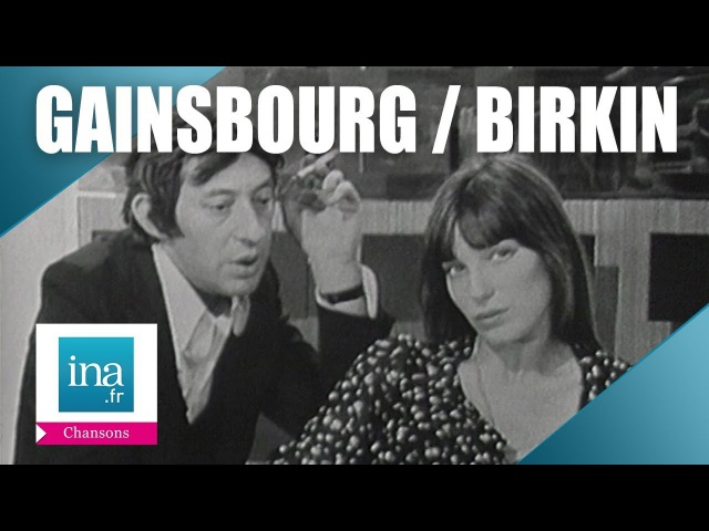 Serge Gainsbourg Jane Birkin Ballade de Melody Nelson   Archive INA