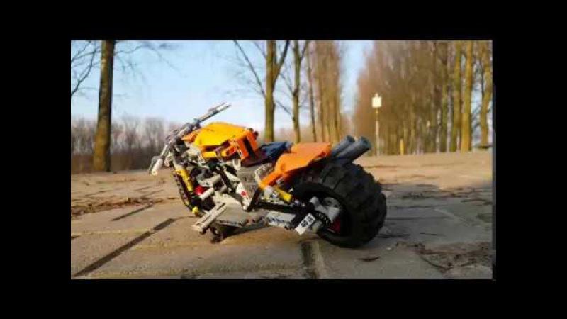 LEGO TECHNIC RC MOTORBIKE MOC ( 2.0 )