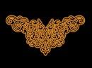 Embroidery gold retro01