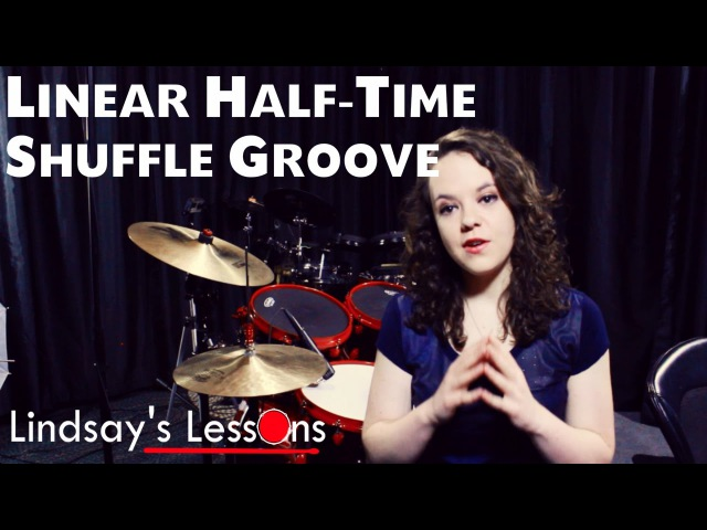 Linear Half Time Shuffle Groove 1 Lindsay's Lessons