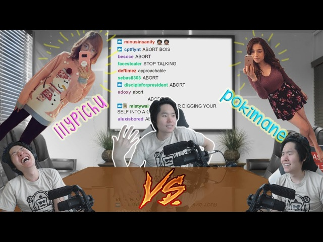 Disguised Toast compares LilyPichu and Pokimane: THE COMPLETE SAGA (part one)