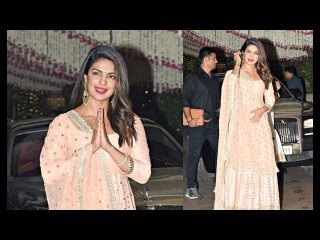Priyanka Chopra Hot At Mukesh Ambani Ganesh Chaturthi Party 2017