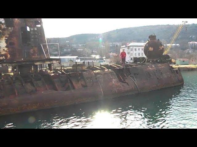 В Крыму отреставрируют экспериментальную советскую подлодку «Бентос 300»