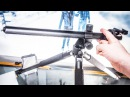 Best travel tripod ever! Cheap, light, strong, tall, has jib arm! Giottos Silk Road YTL 8353