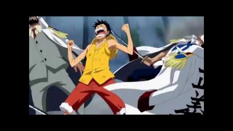 One Piece Top 10 Conqueror's Haki Moments HD Использование королевской воли