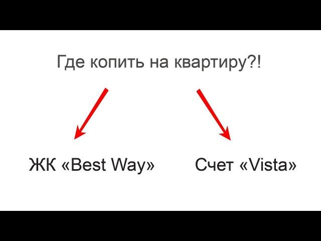 Где лучше копить деньги на квартиру, в ЖК или на Viste? lg-finance.ru