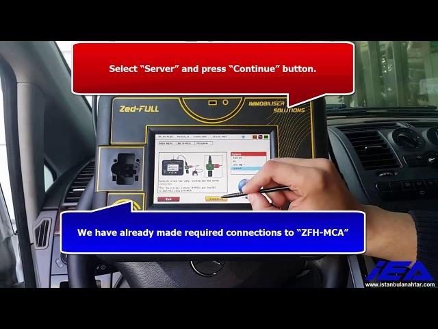 2008 Mercedes Benz Vito (EZS/EIS W639) Key Programming with Zed-FULL through OBD2