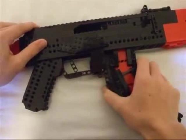 LEGO AK-47 (working)