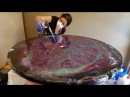 Epoxy Resin Table Top Step by step Dual Heat action DIY begginers and advanced