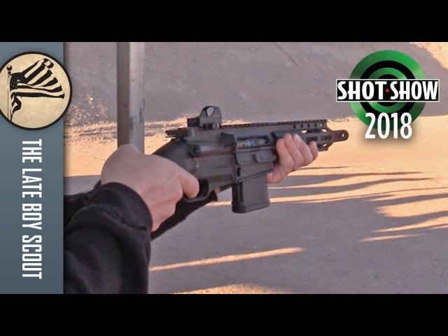 FightLite Industries SCR Pistol - SHOT Show 2018