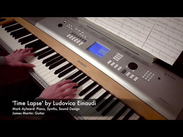 Ludovico Einaudi - Time Lapse (Piano Instrumental Cover) (In a Time Lapse - 2.)