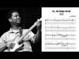 All the Things you Are - Earl Klugh (Transcription)