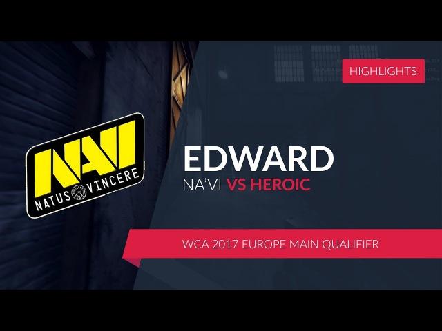 NA'VI.EDWARD vs. HEROIC @WCA 2017 Europe Main Qualifier
