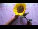 Crepe paper Sunflowers hướng dẫn cách làm hoa hướng dương giấy nhún by Dzung Mac