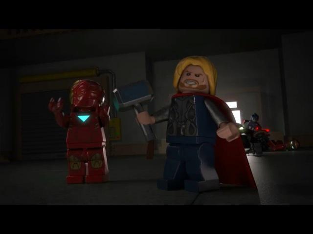 Лего Марвел Новые Мстители : Эпизод 2